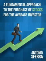 A Fundamental Approach to the Purchase of Stocks for the Average Investor