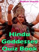 Hindu Goddesses Quiz Book