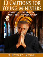 10 Cautions For Young Ministers