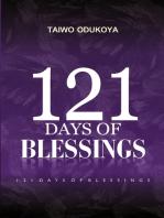 121 Days of Blessings