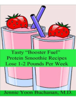 "Tasty ""Booster Fuel"" Protein Smoothie Recipes"