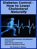 Diabetes Control-How to Lower Cholesterol Naturally