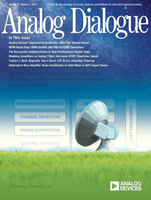 Analog Dialogue, Volume 47, Number 1