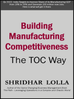 Building Manufacturing Competitiveness