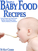 Simple Baby Food Recipes