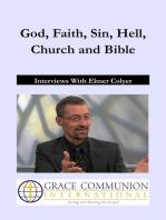 God, Faith, Sin, Hell, Church and Bible