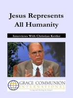 Jesus Represents All Humanity