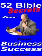 52 Bible Secrets For Your Business Success