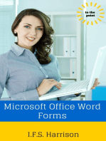 Microsoft Office Word Forms