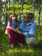 Sonnets pour deux générations