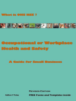 Occupational or Workplace Health and Safety