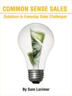 Common Sense Sales