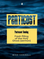 Pentecost Sunday - Fresh Filling of the Holy Ghost (sermon)