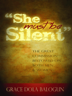 """She Must Be Silent"""
