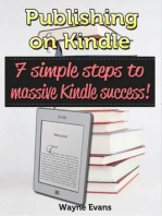 Publishing on Kindle