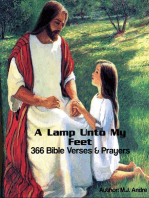 A Lamp Unto My Feet:366 Bible Verses & Prayers