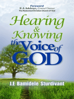 Hearing & Knowing the Voice of God