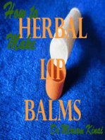 How to Make Herbal Lip Balms