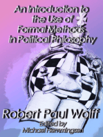 An Introduction to the Use of Formal Methods in Political Philosophy