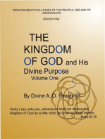 The Kingdom of God and His Divine Purpose Vol1