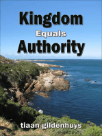 Kingdom equals Authority