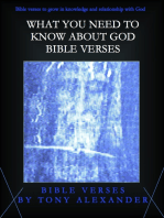 What You Need to Know About God Bible Verses
