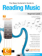 The Bass Guitarist's Guide to Reading Music: Beginner Level