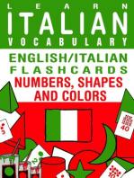 Learn Italian Vocabulary