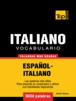 Vocabulario Español-Italiano: 9000 Palabras Más Usadas