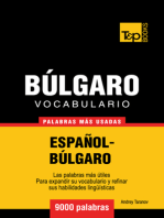 Vocabulario Español-Búlgaro