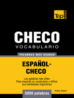 Vocabulario Español-Checo