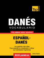 Vocabulario Español-Danés