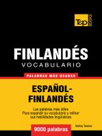 Vocabulario Español-Finlandés