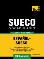 Vocabulario Español-Sueco