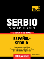 Vocabulario Español-Serbio