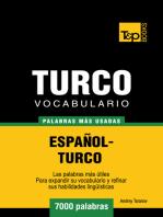 Vocabulario Español-Turco
