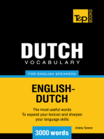 Dutch vocabulary for English speakers