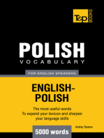 Polish Vocabulary for English Speakers