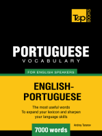 Portuguese Vocabulary for English Speakers: 7000 Words