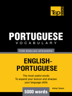 Portuguese Vocabulary for English Speakers: 5000 Words
