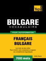 Vocabulaire Français-Bulgare pour l'autoformation