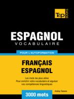 Vocabulaire Français-Espagnol pour l'autoformation