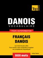 Vocabulaire Français-Danois pour l'autoformation