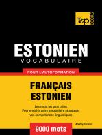 Vocabulaire Français-Estonien pour l'autoformation