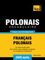 Vocabulaire Français-Polonais pour l'autoformation