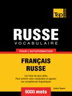 Vocabulaire Français-Russe pour l'autoformation