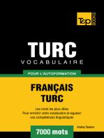 Vocabulaire Français-Turc pour l'autoformation