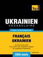 Vocabulaire Français-Ukrainien pour l'autoformation