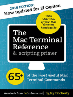 The Mac Terminal Reference and Scripting Primer