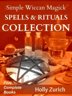 Simple Wiccan Magick Spells & Rituals Collection